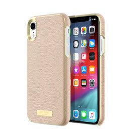Kate Spade Wrap Case Saffiano Rose Gold Plate for iPhone XR