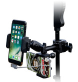 Profile Phone+Power bank Mic Stand holder