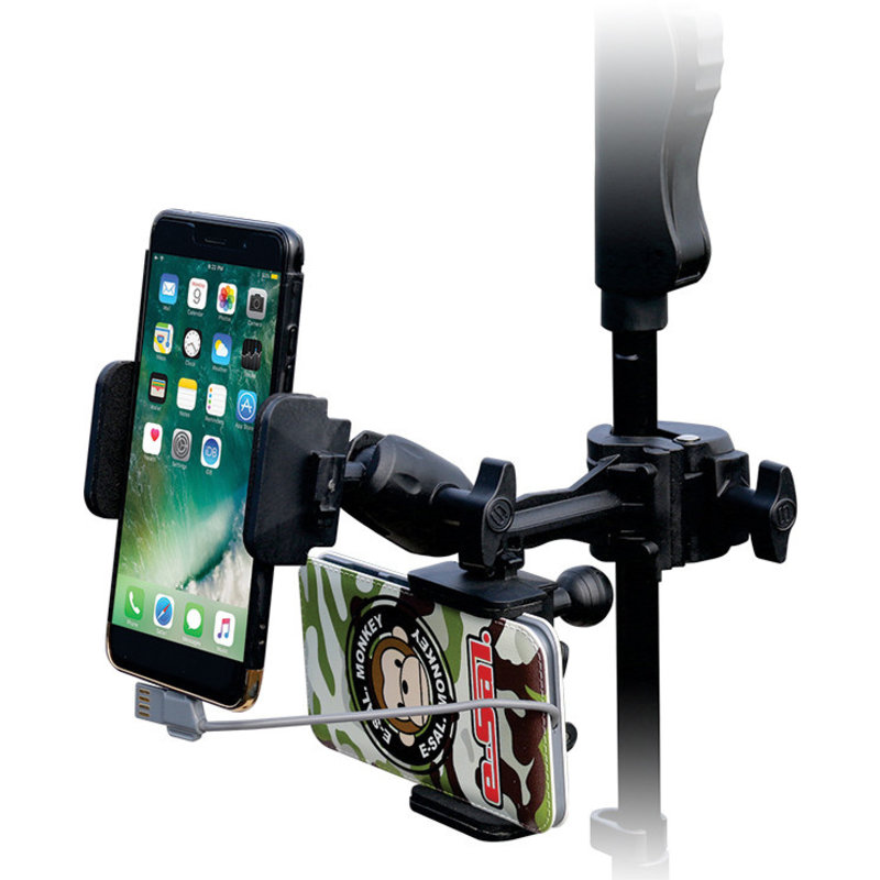 Phone+Power bank Mic Stand holder