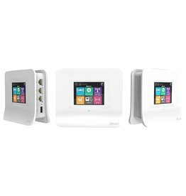 SECURIFI Almond 3 Touchscreen Smart Home Hub AC1200 Mesh Wi-Fi System, White, 3-Pack