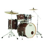 Pearl Drums Export Select Kit 2218B-1007T-1208T-1616F-1455S - Satin Brown w HWP - No Cymb