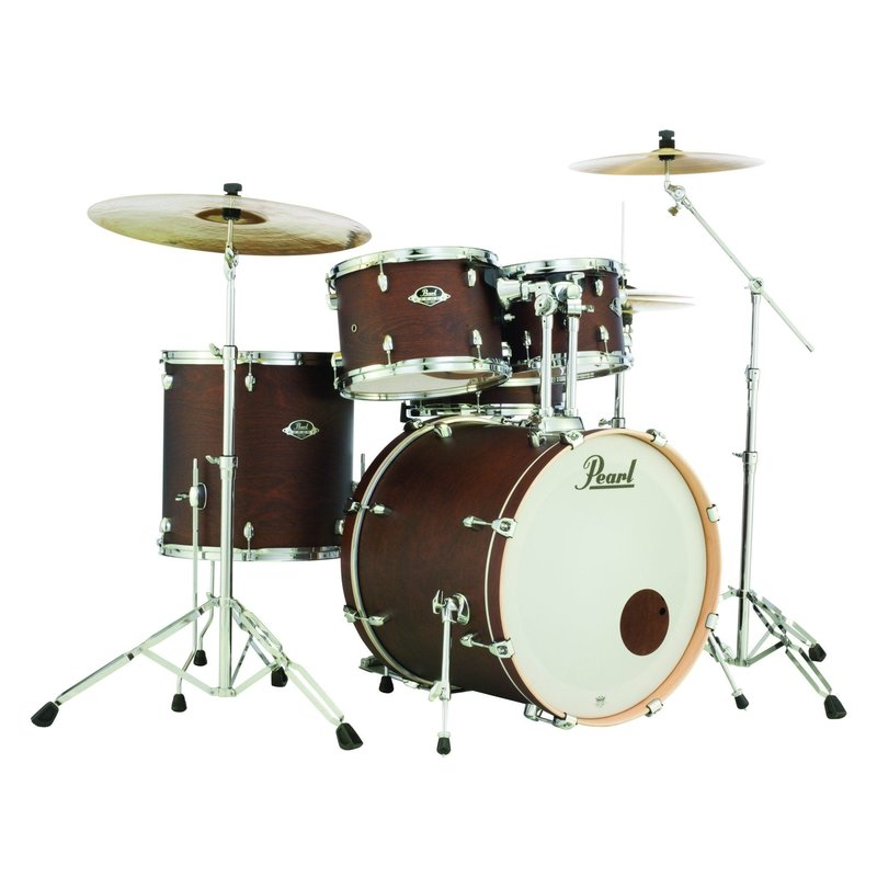 Export Select Kit 2218B-1007T-1208T-1616F-1455S - Satin Brown w HWP - No Cymb