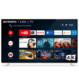 Skyworth 65'' XA8 OLED 4K Smart AI Android HDR Bezel-less Full Screen Design