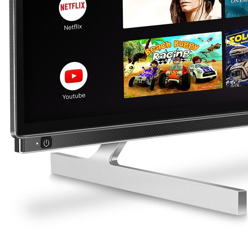 65'' XA8 OLED 4K Smart AI Android HDR Bezel-less Full Screen Design