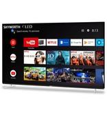 Skyworth 55'' XA8 OLED 4K Smart AI Android HDR Bezel-less Full Screen Design
