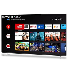 Skyworth 55'' XA8 OLED 4K Smart AI Android HDR Bezel-less Full Screen Design