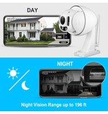 Foscam Outdoor WIFI 1080P PTZ with Starviz Low Light and 60M NightVision