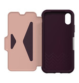 Otterbox Strada Folio Case Royal Blush (White/Pink) for iPhone XR
