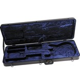 Schecter Hardcase for C-Shape Electric Guitar, Black/Blue Interior