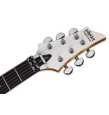 Schecter C-6 FR DELUXE Solid-Body 6 String Electric Guitar - Satin White