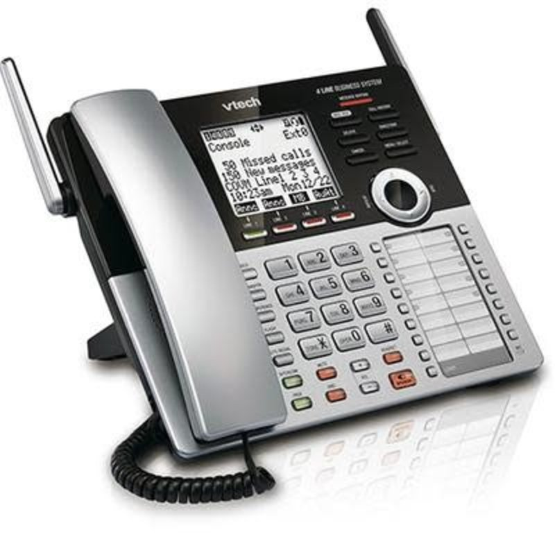 4 line Cordless office phone system
