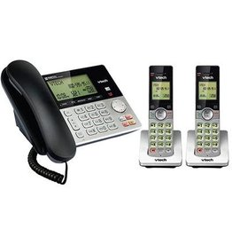 vTech CS6949-2 Corded/Cordless Phone system w/Ans 2 handsets