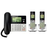 vTech Corded/Cordless Phone system w/Ans 2 handsets