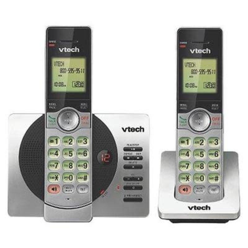 2 Handset Cordless Phone System