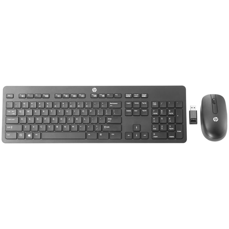 Wireless Slim Desktop Keyboard & Mouse