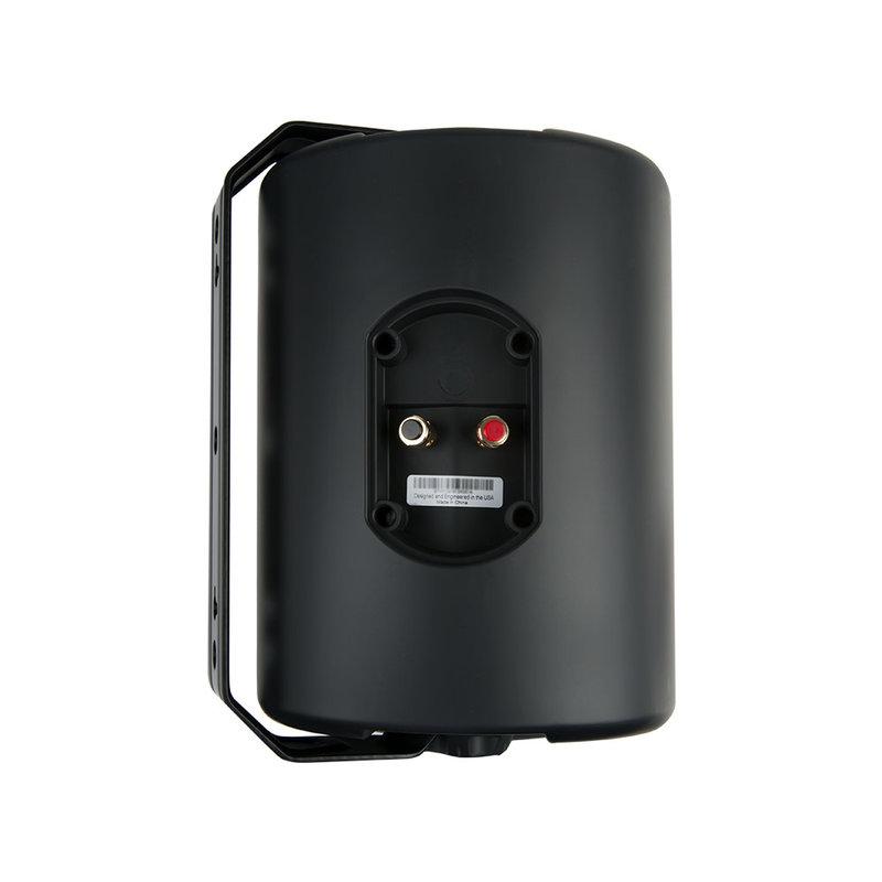 6.5-inch 2-way All-Weather Speakers (Pair - Black)