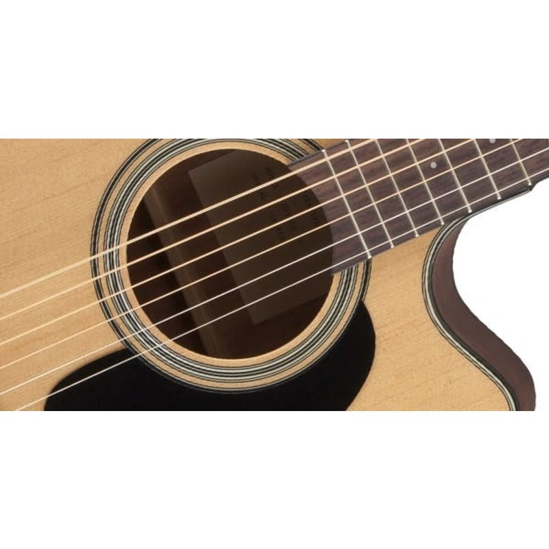 Dreadnought Cutaway Acoustic-Electric Guitar, Natural