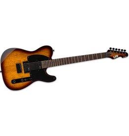 ESP ESP TE Series TE-200 Rosewood Electric Guitar, Tobacco Sunburst