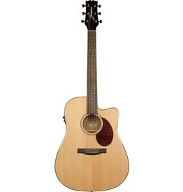 Jasmine J Series Dreadnought Acoustic Electric Cutaway Guitar - Natural