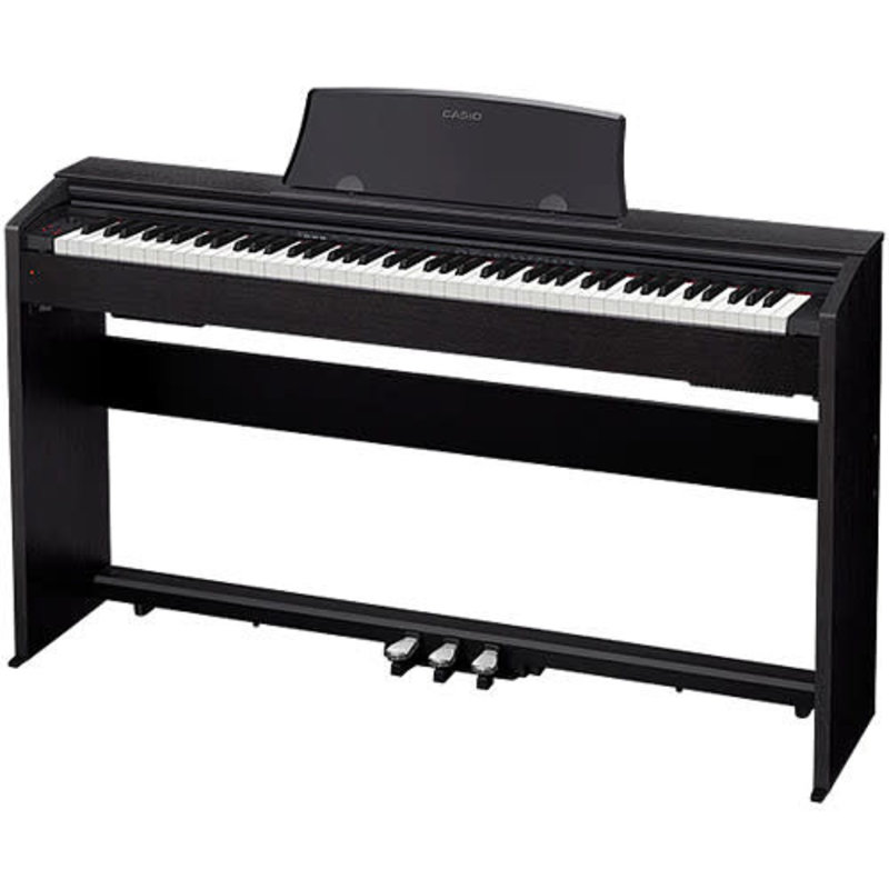PRIVIA Digital Piano 88-note Tri-Sensor weighted scaled hammer-action