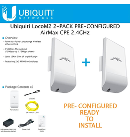 Ubiquiti Networks Wireless PtP Link Kit 1- Self Install