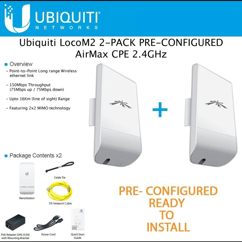 Wireless PtP Link Kit 1- Self Install
