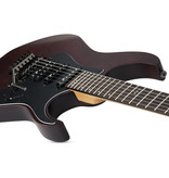 Schecter Banshee-6 SGR Electric Guitar - Walnut Satin