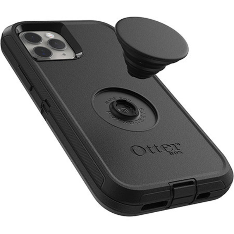 Otter + Pop Defender Case with Swappable PopTop for iPhone 11 Pro
