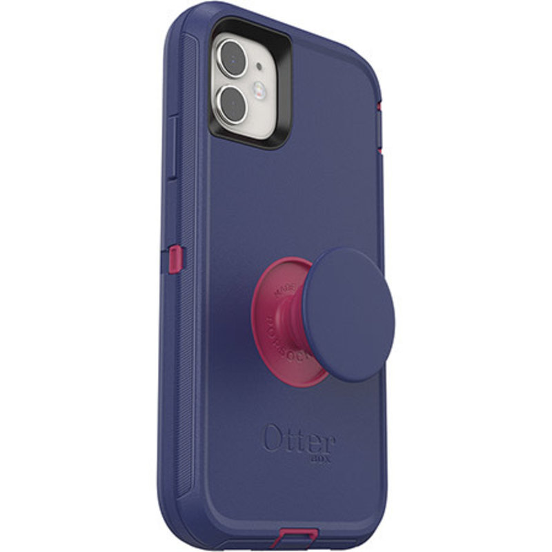 Otter + Pop Defender Case with Swappable PopTop iPhone 11