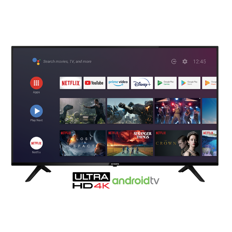 Skyworth 65'' 4K UHD Smart Android TV powered by Google