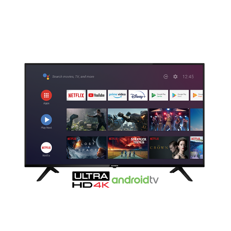 Skyworth 50'' 4K UHD Smart Android TV powered by Google