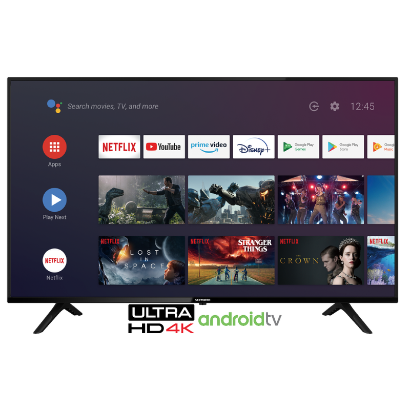 70'' 4K UHD Smart Android TV powered by Google