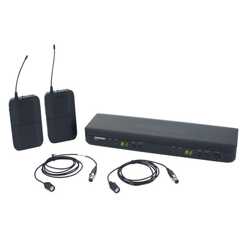 Dual Wireless System CVL Lav System
