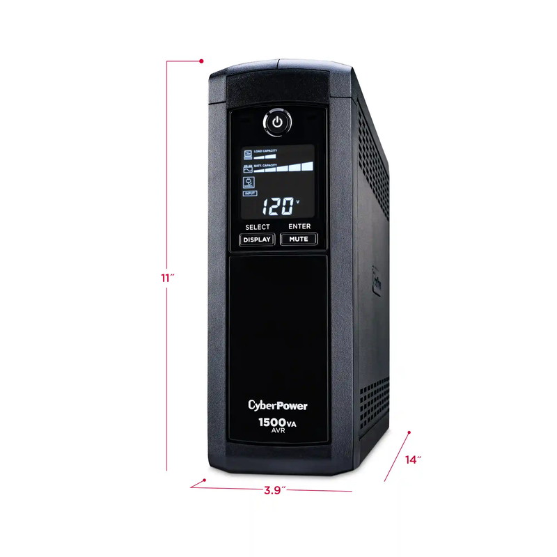 1500VA Battery BackUp w/LCD