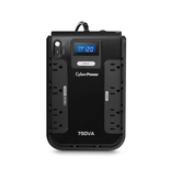 CyberPower 750VA Battery BackUp w/ LCD