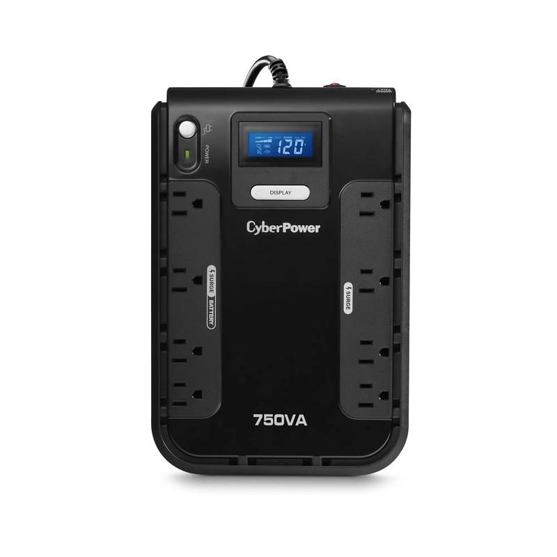 750VA Battery BackUp w/ LCD