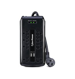 CyberPower 8 Outlet w/2x USB Surge Protector