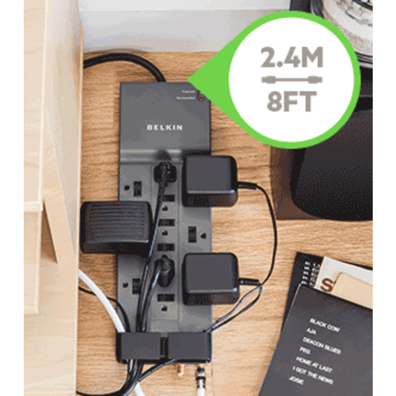 12 Outlet 3780JL Surge Protector