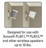 Sanus Tilt / Swivel Wall Mount for WiFi speakers - White (ea.)