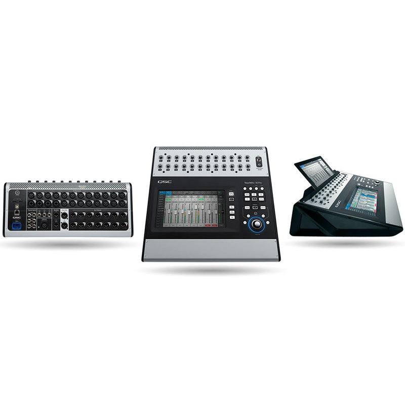 30 Channel Digital Mixer w/ Touch Screen