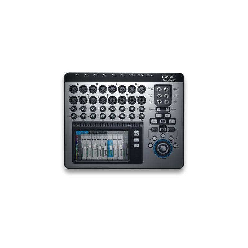 16 Channel Digital Mixer w/Touch Screen & Carrying Case