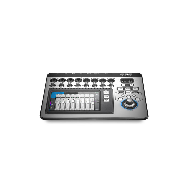 8 Channel Digital Mixer w/Touch Screen & Carrying Case
