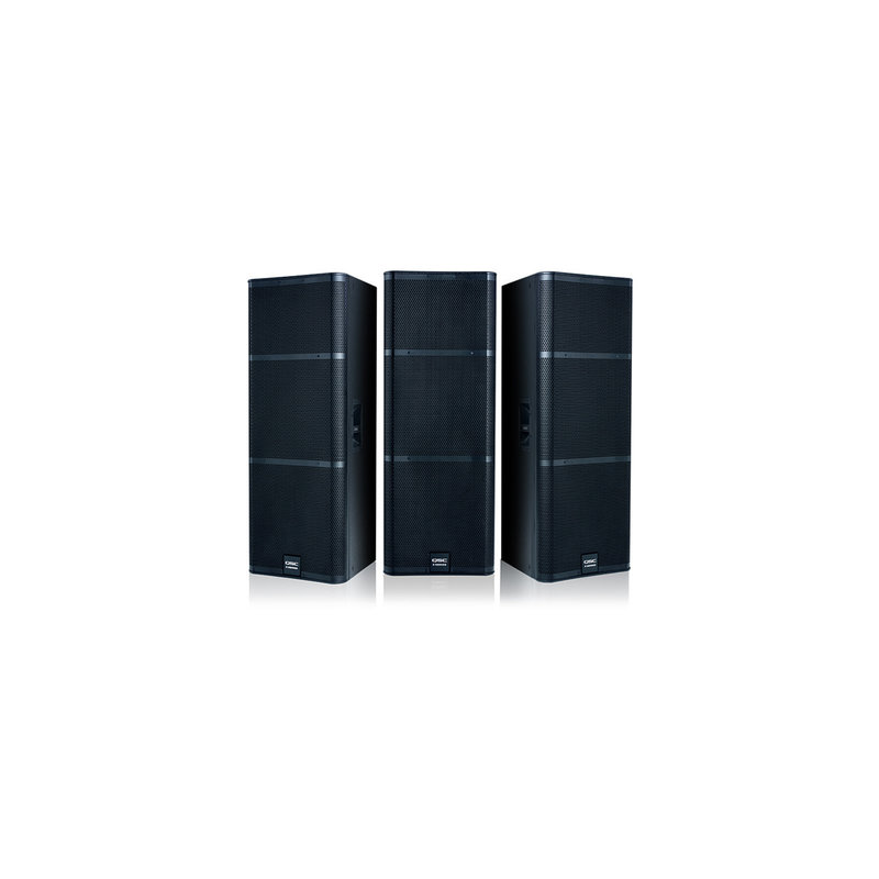 2Way 1000W Passive Loudspeaker -75 conical-Dual 15in Drivers