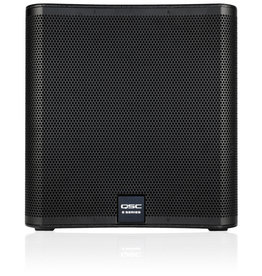 QSC E118SW - Single 18in Passive Subwoofer -800W with Speaker Pole