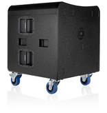 QSC Single 18in Passive Subwoofer -800W with Speaker Pole