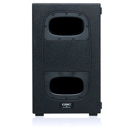 QSC KS112 - 12 Inch Powered Subwoofer -2000W with 4 Casters