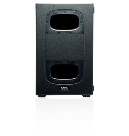 QSC KS212C - Dual 12 Inch Cardiod Subwoofer -3600W with Pole and Casters