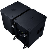 QSC 18 Inch 3600W Powered Sub with M20 Threaded Pole Socket