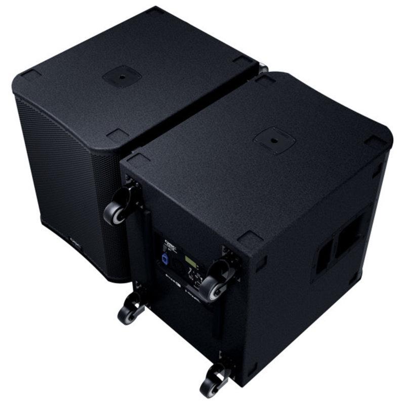 18 Inch 3600W Powered Sub with M20 Threaded Pole Socket