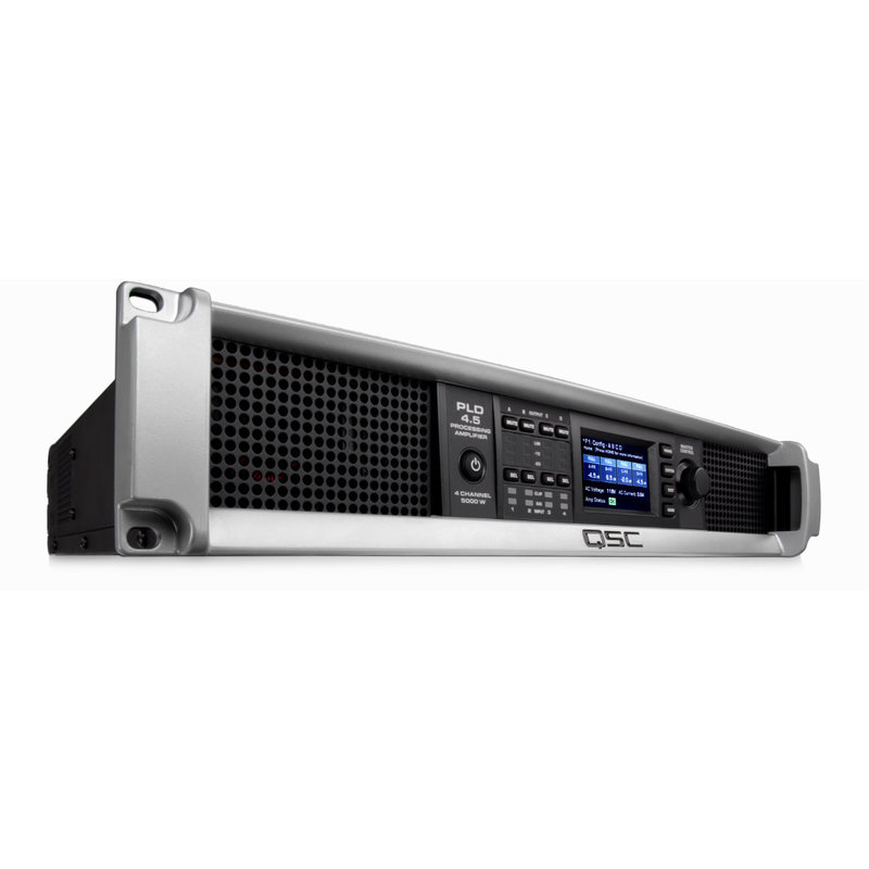 PLD 4 Channel Amplifier with DSP